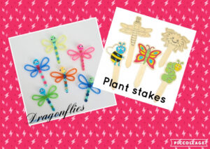 Dragonfly Craft & Plant Stakes