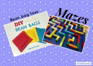 Bean Bag Games & Mazes