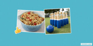 Pasta Salad & Bowling and Boules Competition